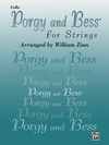 Alfred Music Gershwin, G. (Zinn): Porgy and Bess for Strings (cello)