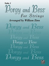 Alfred Music Gershwin, G. (Zinn): Porgy and Bess for Strings (violin 1)