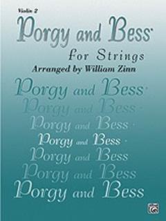 Alfred Music Gershwin, G. (Zinn): Porgy & Bess for Strings (violin 2)