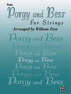 Alfred Music Gershwin, G. (Zinn): Porgy and Bess for Strings (viola)