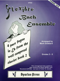 Carl Fischer Goddard, M.: Flexible Bach Ensemble (string orchesrtra)
