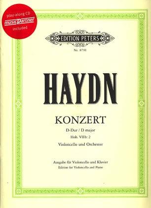 Haydn, F.J.: Cello Concerto in d (cello, piano & CD)