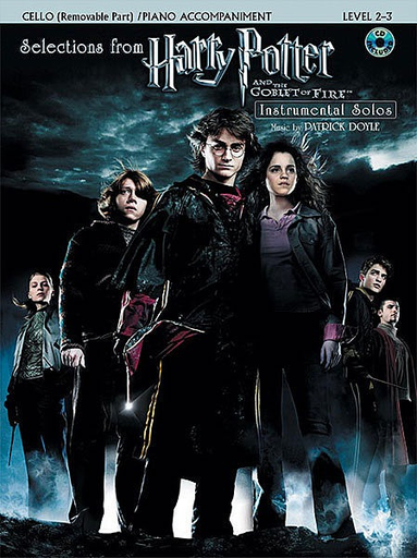 Alfred Music Doyle, Patrick: Selectons from Harry Potter & the Goblet of Fire (cello, piano, CD)