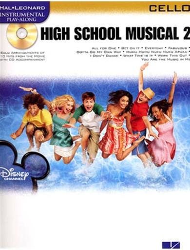 HAL LEONARD High School Musical 2 (cello & CD)