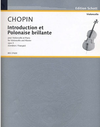 HAL LEONARD Chopin, Frederic: Introduction & Polonaise Brillante Op.3 (cello & piano)