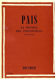 HAL LEONARD Pais, A: La Tecnica del Violoncello. Cello Method.