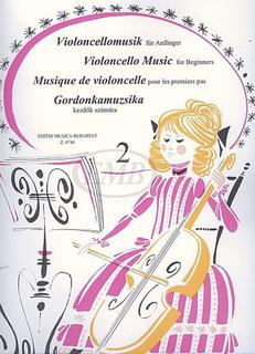 HAL LEONARD Pejtsik: Violoncello Music for Beginners Vol.2 (cello & piano), Edito Musica Budapest