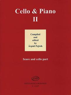 HAL LEONARD Pejtsik, Arpad: Cello & Piano, Vol.2 (cello & piano)