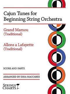 HAL LEONARD Maccabee: Cajun Tunes for Beginning String Orchestra