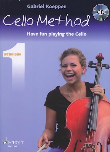 HAL LEONARD Koeppen: Cello Method, Vol.1 (1-3 cellos)(CD)
