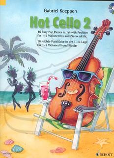 HAL LEONARD Koeppen: (collection) Hot Cello 2 (2 cellos)(CD) Schott