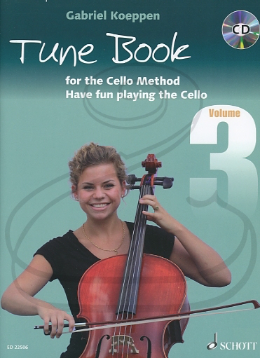 HAL LEONARD Koeppen: Cello Method - Tune Book, Bk.3 (cello)(CD) Schott