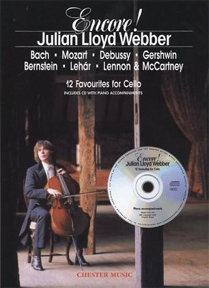Lloyd Webber, Julian: Encore-12 Favorites for Cello & CD-no piano accompaniment