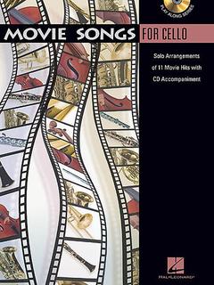 HAL LEONARD Movie Songs for Cello (cello & CD)