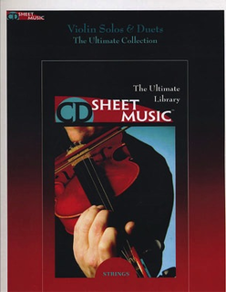 HAL LEONARD CD Sheet Music: Violin Solos and Duets the Ultimate Collection CD ROM)