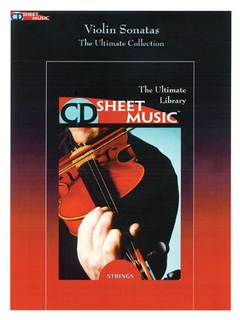 HAL LEONARD CD Sheet Music: Violin Sonatas (violin & piano on CD ROM)