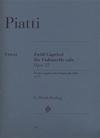HAL LEONARD Piatti (Bellisario): 12 Capricci for Violoncello Solo, Op.25 - URTEXT (cello) Henle