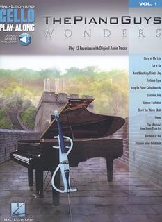 HAL LEONARD The Piano Guys - Wonders, Play 12 Favorites with Original Audio Tracks, Volume I (cello, and audio accompaniment)