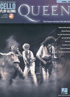 HAL LEONARD Hal Leonard Play-Along Series Vol.8: Queen (cello)(audio access) Hal Leonard