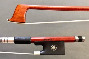 JonPaul Jean-Paul Pernambuco violin bow, nickel-mounted