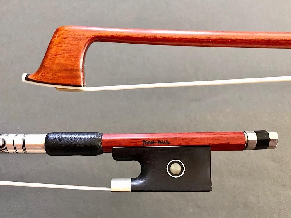 JonPaul Jean-Paul Pernambuco violin bow, nickel-mounted