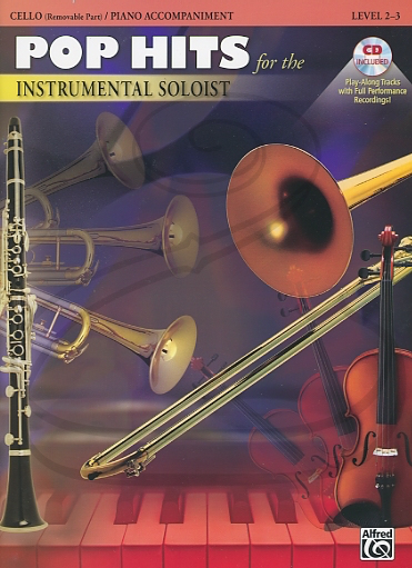 Alfred Music Alfred Music: (collection) Pop Hits for the Instrumental Soloist (cello)(CD)