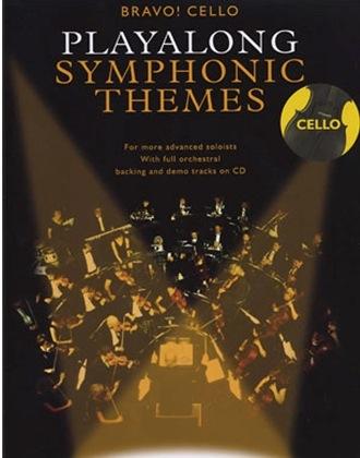 Music Sales Bravo! Cello: Playalong Symphonic Themes (violin & CD)
