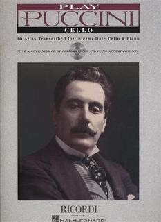 HAL LEONARD Puccini, G.: 10 Arias transcribed for Intermediate Cello & Piano with CD acc.