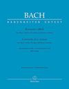 Barenreiter Bach, J.S. (Fischer): SCORE Concerto in C minor for Oboe & Violin BWV 1060, Barenreiter