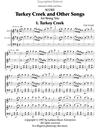 LudwigMasters Critelli, Carol: Turkey Creek & Other Songs for String Trio (score)