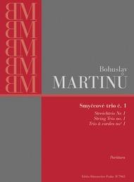 Barenreiter Martinu, Bohuslav: String Trio  miniature SCORE #1 (violin, viola, cello)