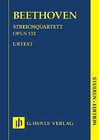 HAL LEONARD Beethoven, L.van (Platen, ed.): String Quartet in A Minor, Op. 132, urtext (score)