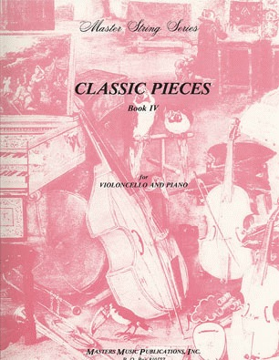 LudwigMasters Masters Music Classic Pieces Bk.4 (cello & piano)