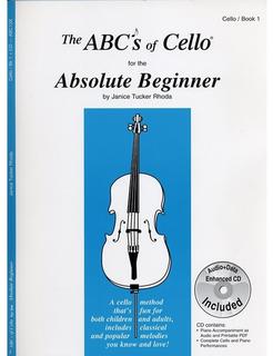 Carl Fischer Rhoda: The ABC's of Cello for the Absolute Beginner, Bk.1 (cello)(CD)