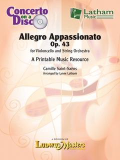LudwigMasters Saint-Saens, C: Allegro Appassionato Printable Music Resource (cello, string orchestra) Latham