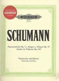 Schumann, R: Fantasy Pieces, Adagio/Allegro, Folksongs (cello, piano, CD)