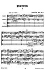 HAL LEONARD Bartok, B.: (Score) The String Quartets of Bela Bartok - Complete