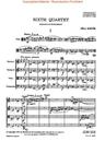 HAL LEONARD Bartok, B.: String Quartet No. 6 (STUDY SCORE)