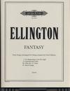 Ellington, D. (Chihara): (Score) Fantasy - Four Songs Arranged for String Quartet by Paul Chihara (string quartet)
