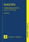 HAL LEONARD Haydn, F.J. (Walter, ed.): String Quartets, Volume 11, Op.77 and  Op.103, Henle urtext (score)