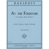 International Music Company Davidov, Carl (Rose): At the Fountain Op.20 #2 (cello & piano)