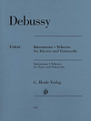HAL LEONARD Debussy, C. (Heinemann, ed.): Intermezzo and Scherzo (cello & piano)