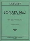 International Music Company Debussy (Fournier): Sonata No.1 in D minor (cello & piano)