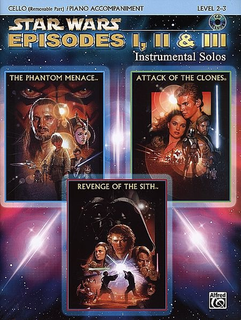 Alfred Music Williams, John: Star Wars Selections Episodes 1, 2,3 (cello & CD)
