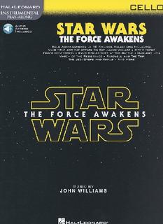 HAL LEONARD Williams, John: Star Wars The Force Awakens (cello & media access)