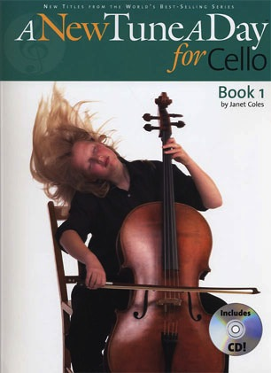 Boston Music Company Coles, Janet: A New Tune A Day for Cello Bk.1 (cello, CD)