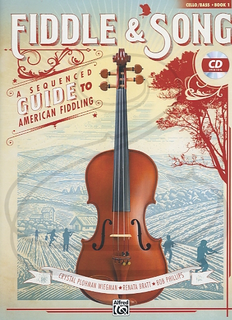 Alfred Music Wiegman/Bratt/Phillips: Fiddle & Song, Bk.1 (cello/bass)(CD) Alfred