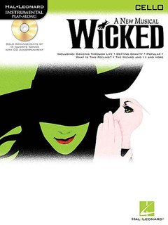 HAL LEONARD Schwartz, Stephen: Wicked (cello & CD)