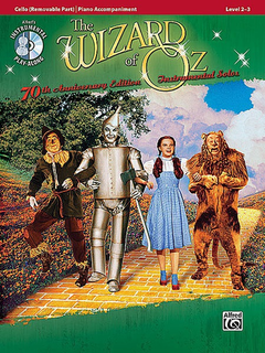 Alfred Music Wizard of Oz (Cello & CD)