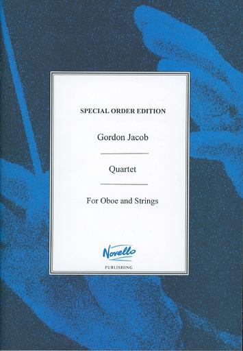 HAL LEONARD Jacob, G.: (Score) Quartet, for Oboe and Strings (mixed ensemble)